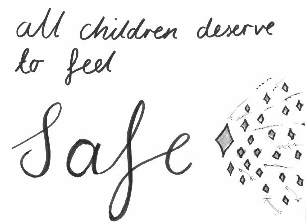 All children deserve to feel safe image